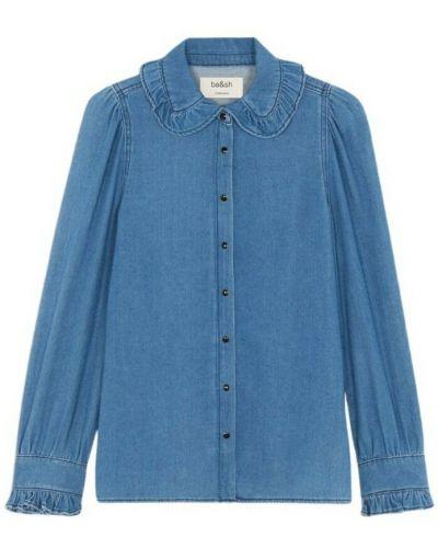 Niebieska koszula Ba&sh