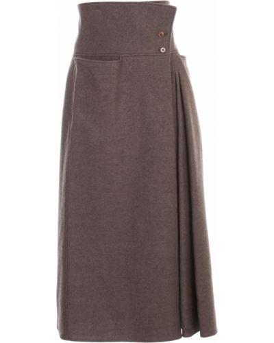 Spódnica plisowana Lemaire