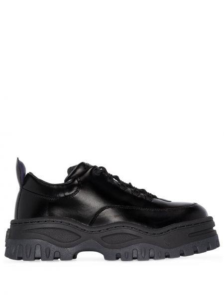 Skórzany czarny sneakersy Eytys