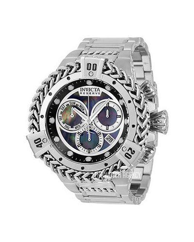 Черные часы с ремешками Invicta