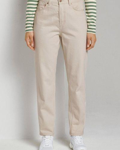 Повседневные бежевые брюки Tom Tailor Denim