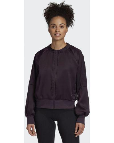 Фиолетовая олимпийка Adidas