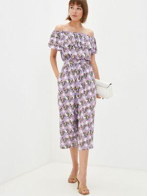 Фиолетовый весенний комбинезон Gloss