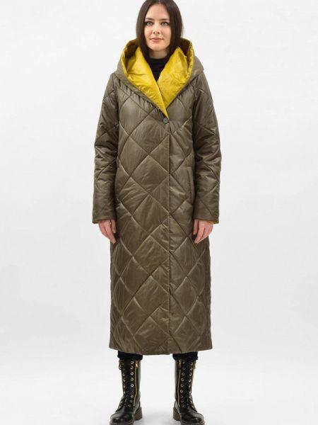 Теплая зеленая утепленная куртка Doctor E