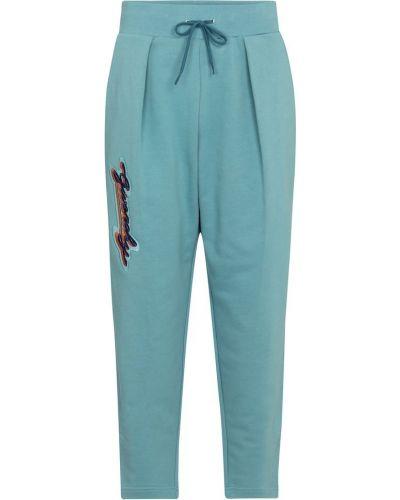 Niebieskie joggery bawełniane Givenchy