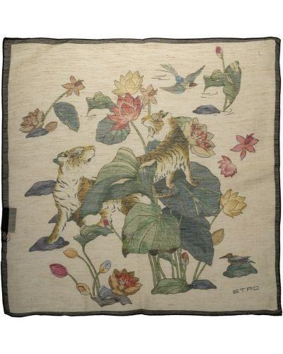 Różowy szalik Etro