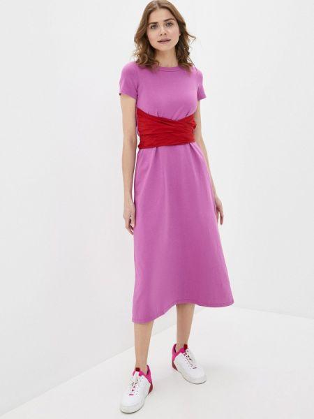Платье розовое футболка Shade