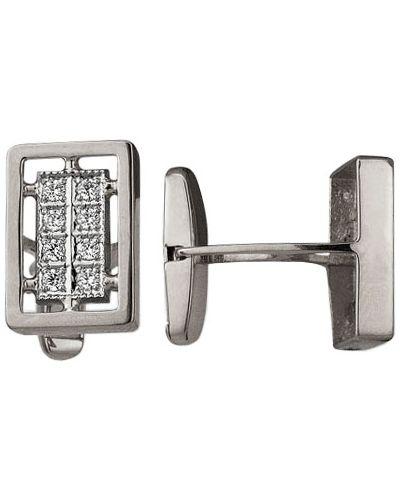 Запонки из серебра серебряный караваевская ювелирная фабрика