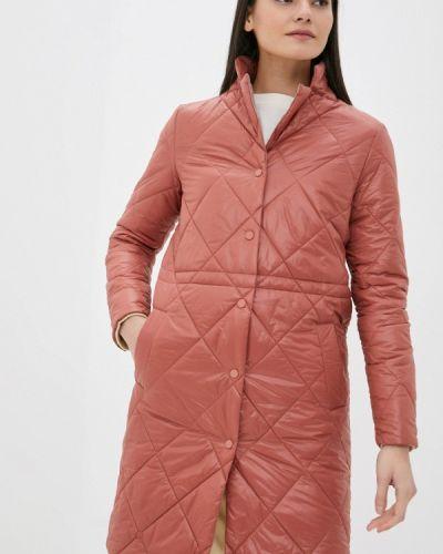 Утепленная куртка - красная снежная королева