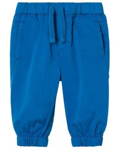 Niebieskie spodnie bawełniane Stella Mccartney Kids