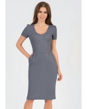 Платье футляр серое Olivegrey