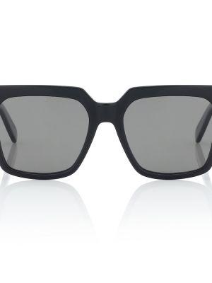 Муслиновые черные солнцезащитные очки квадратные Celine Eyewear