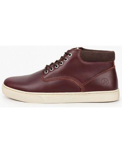 Кожаные ботинки - красные Affex