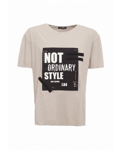 Серая футболка J.b4