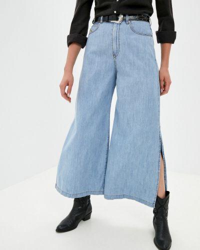 Широкие джинсы - голубые Diesel