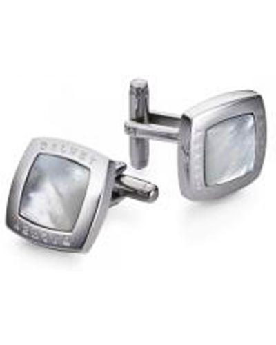 Серебряные запонки Dalvey