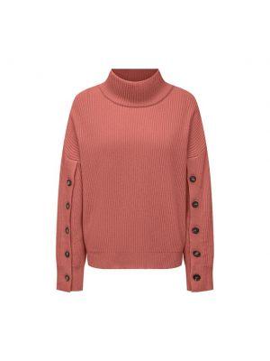Розовая кашемировая свитер Brunello Cucinelli