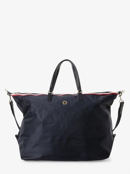 Niebieski torba na zakupy Tommy Hilfiger