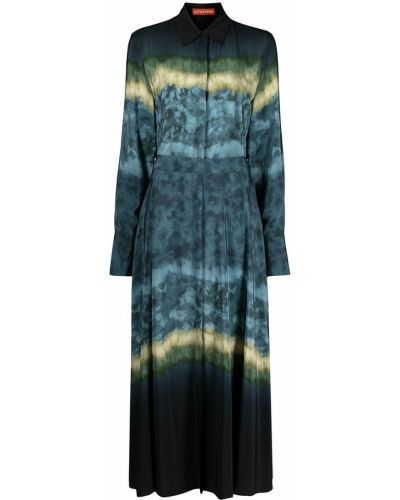 Шелковое платье макси Altuzarra