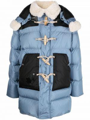 Płaszcz puchowy - niebieski Dsquared2