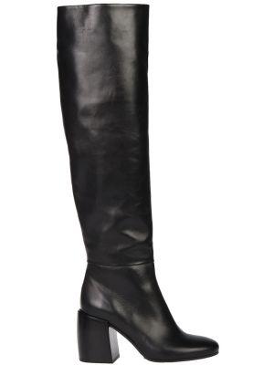 Ботфорты на каблуке кожаные Fru.it
