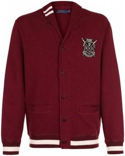 Кардиган с поясом с v-образным вырезом на пуговицах с карманами Polo Ralph Lauren