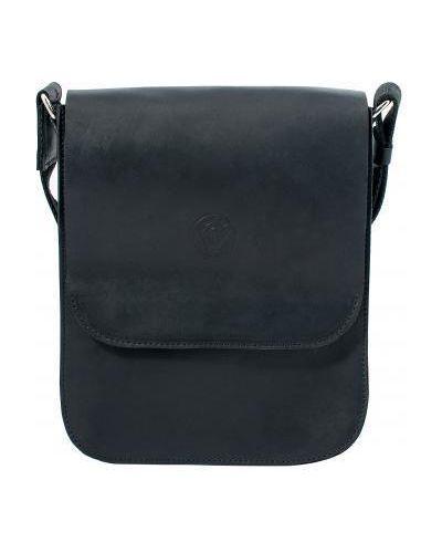 Кожаная сумка - черная Vittorio Safino