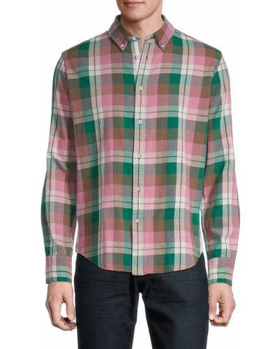 Koszula w kratę - zielona Rag & Bone