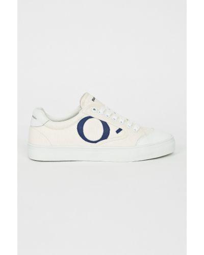 Низкие кеды теннисные на шнуровке Marc O'polo