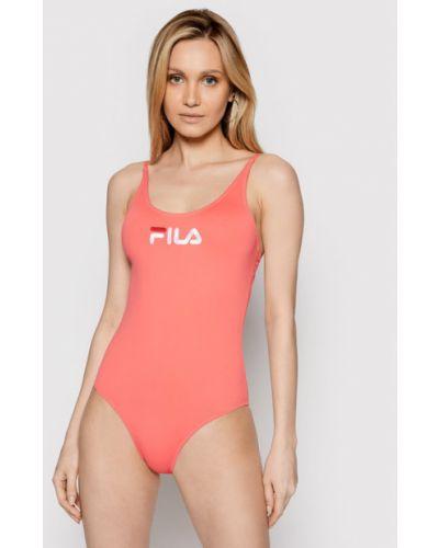 Różowy strój kąpielowy Fila