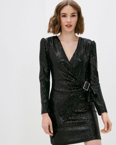 Черное вечернее платье Please