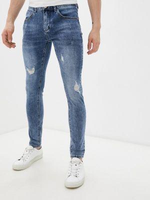 Синие джинсы осенние Terance Kole