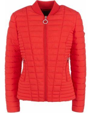 Утепленная куртка на молнии красная Guess