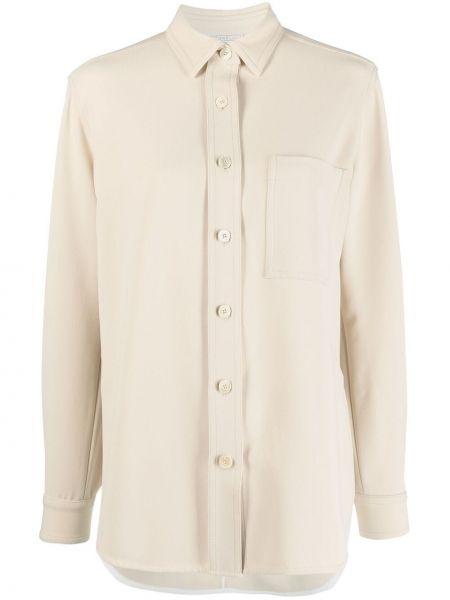 Прямая рубашка с воротником на пуговицах Antonelli