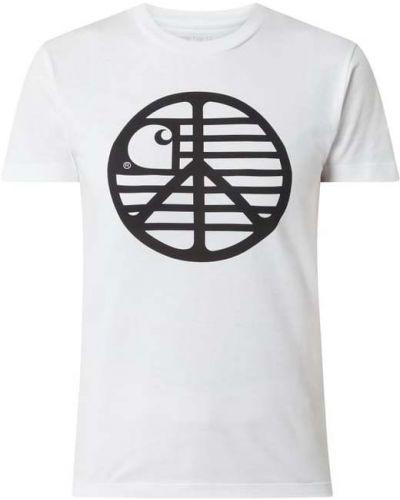 Bawełna koszula okrągły z dekoltem Carhartt Work In Progress