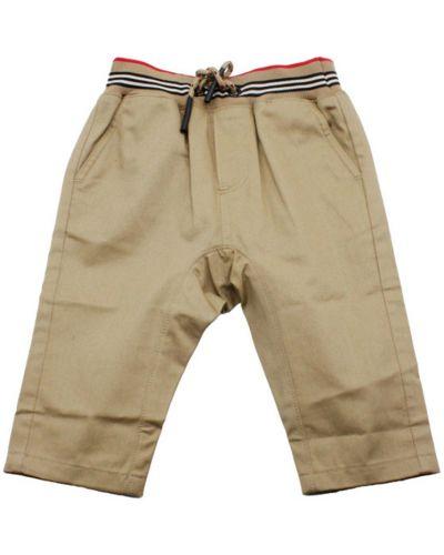 Spodnie materiałowe Burberry