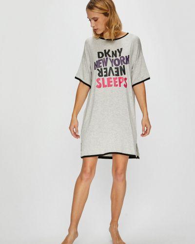Пижама с рубашкой с принтом Dkny