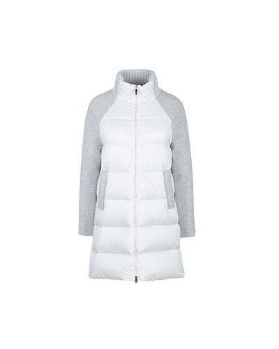 Серая куртка Peserico