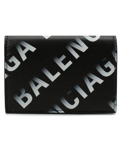 Белый кожаный кошелек Balenciaga