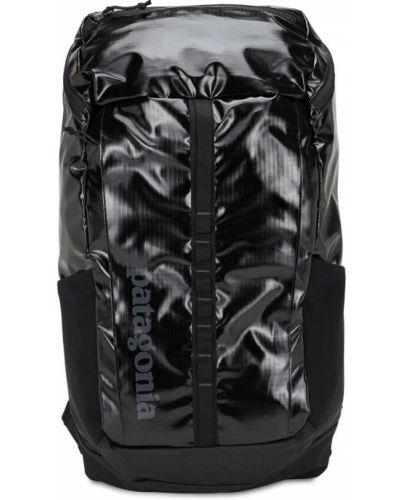 Черный рюкзак для ноутбука с карманами на бретелях Patagonia