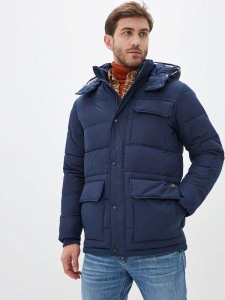 Утепленная куртка - синяя Izod