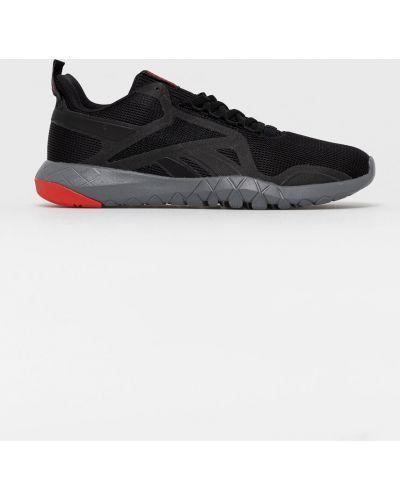 Czarne sneakersy ocieplane sznurowane Reebok