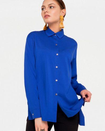 Блузка синяя Solou