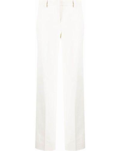 Широкие брюки - белые Lardini