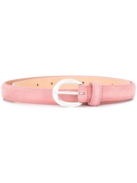 Розовый тонкий ремень с пряжкой круглый узкого кроя Closed