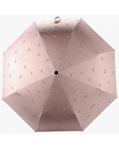 Розовый зонт складной Kawaii Factory