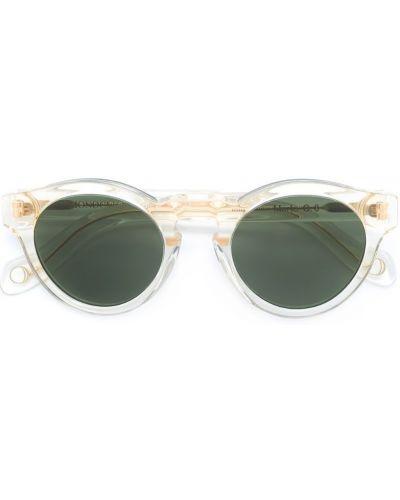 Бежевые солнцезащитные очки Monocle Eyewear