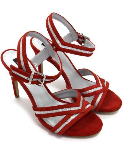 Кожаные босоножки - красные Steffen Schraut