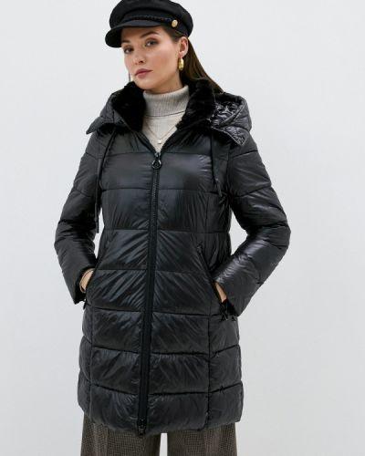 Утепленная черная куртка Gerry Weber