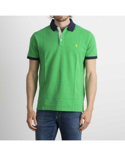 Zielona koszulka Ralph Lauren
